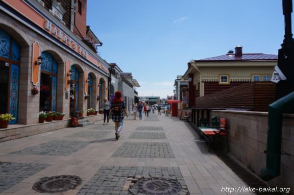 ホテル「マルーシャ」の裏通り画像
