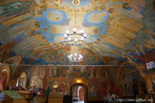 バガヤヴレーンスキー聖堂フレスコ画画像