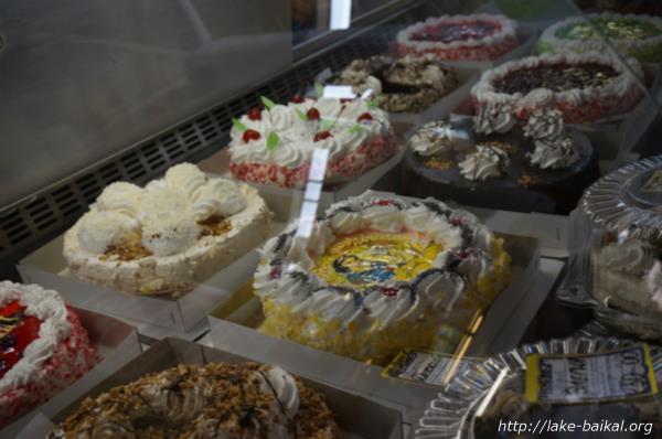 ロシアスタイルのケーキ画像