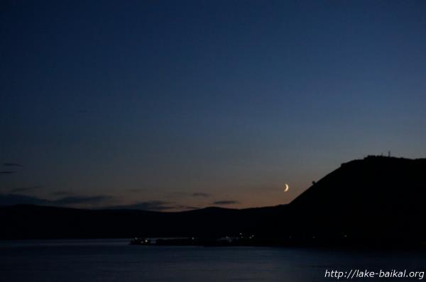バイカル湖夜景画像