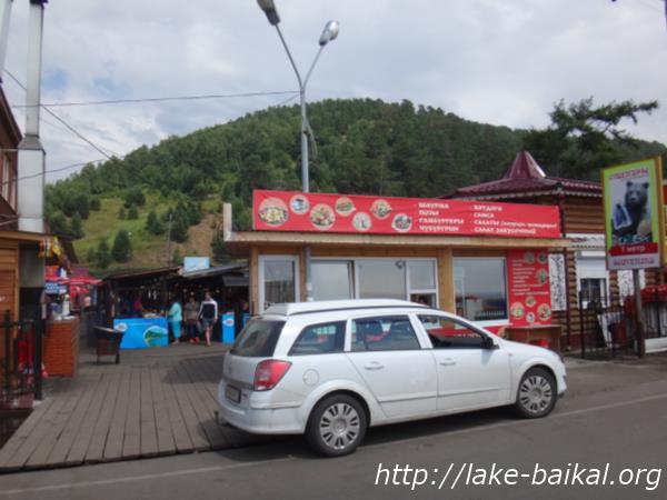 バイカル湖魚市場入口画像