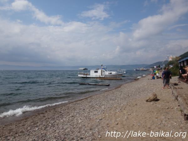 バイカル湖ほとり画像