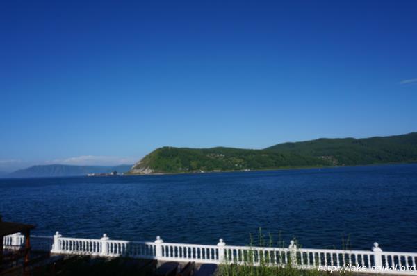 バイカル湖のほとり画像